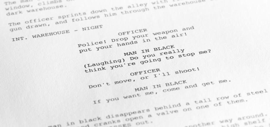screenwriting 101 how to read a screenplay