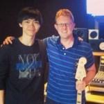 Jin Huang (left)
