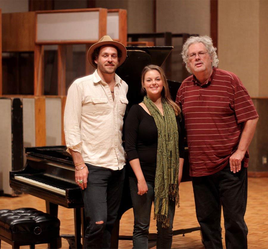 Linny, Hannah Finegold, and Pensado