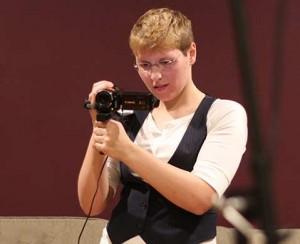 Daryn Davidson - Filming in the Studio