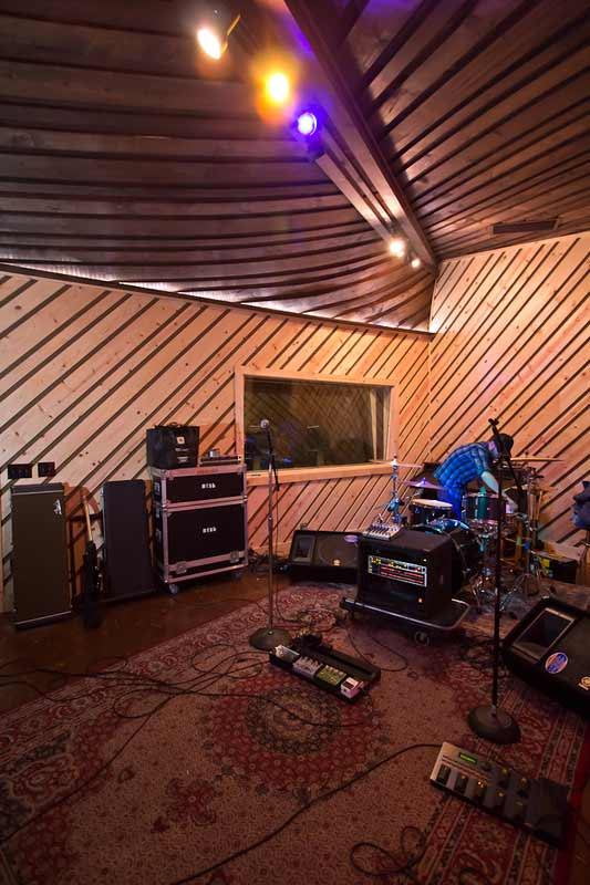 Inside Phaser Control Recording Studio
