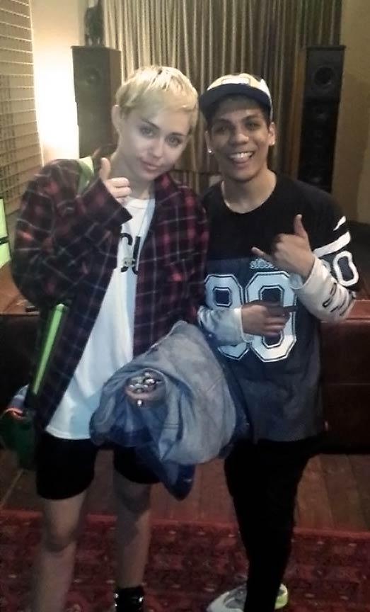 Miley Cyrus & Alex Adams