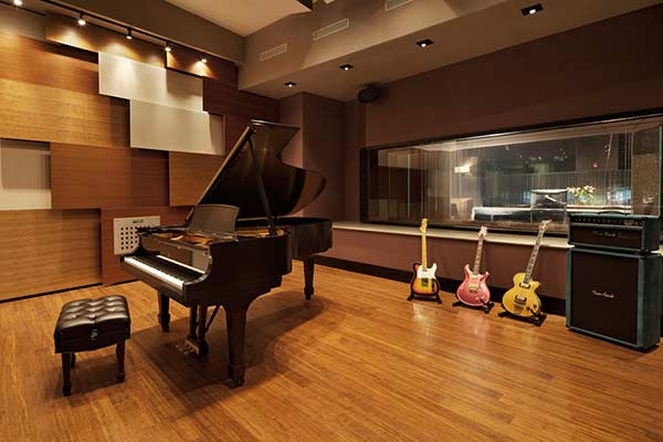 Live Room in Jungle City Studios