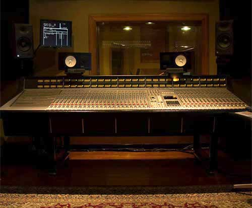 Vibe Recording Studio, SSL 4000G Console