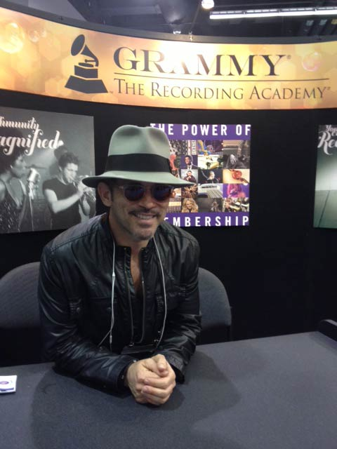 Brian Kraft at The Recording Academy, NAMM 2015