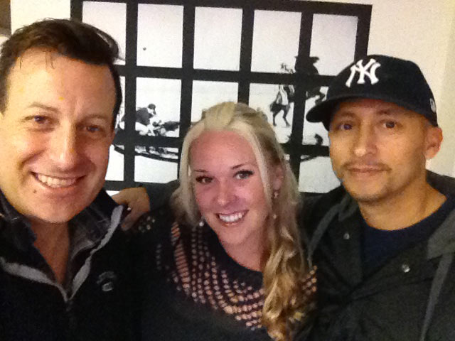 Rick Barcode, Jessica Ryder, and Nelson Ramirez