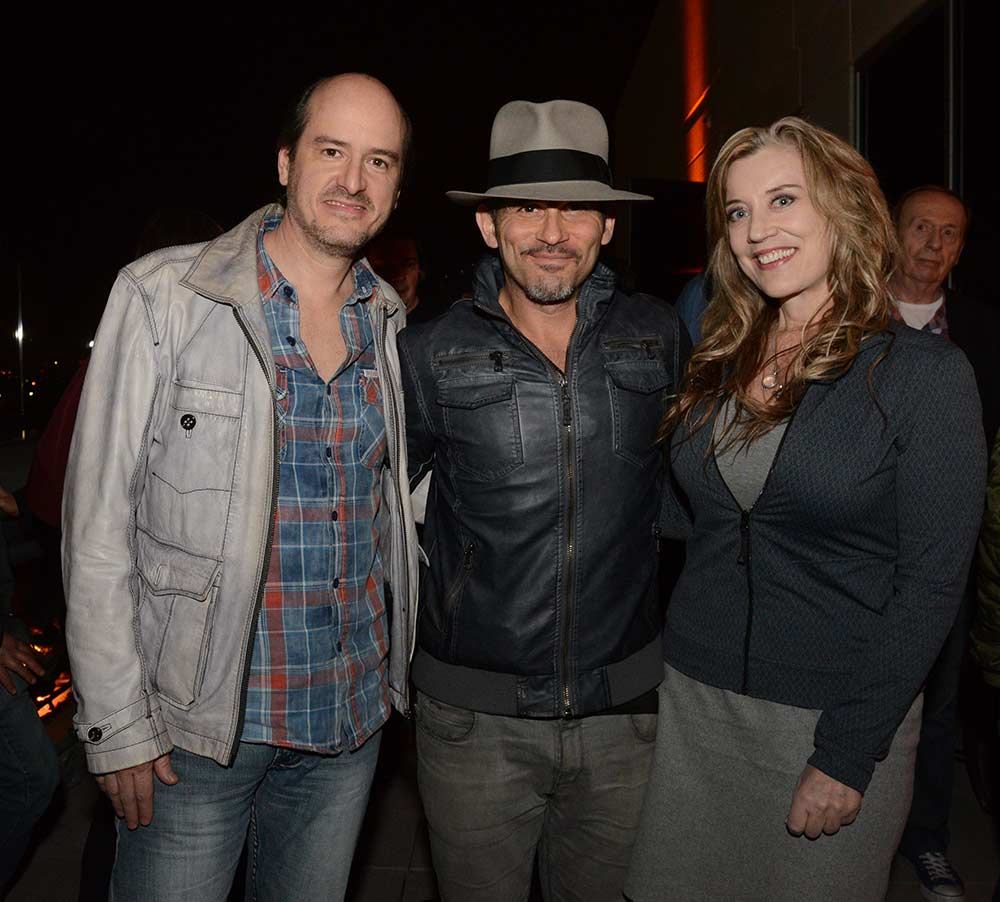 Ryan Ulyate, Brian Kraft, Sylvia Massy. Photo by: Harrison Funk.