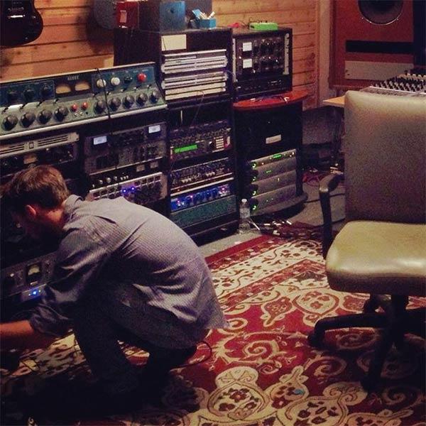 Nick Joswick in 5th Street Studios