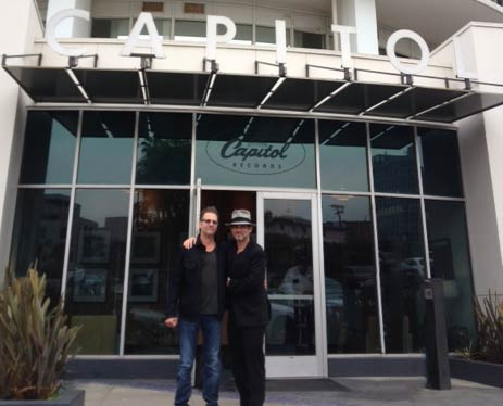 CEO Jimi Petulla and Consultant Brian Kraft at Capitol Studios Hollywood