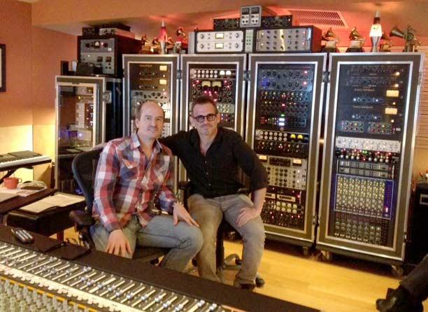 Rafa Sardina and Brian Kraft