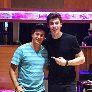 Sebastian Lefeld and Shawn Mendes
