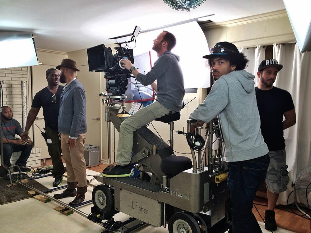 Steve Pitts, Camera Op for Janelle Monet music video.