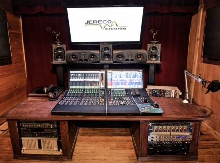 Control Room in Jereco Studios