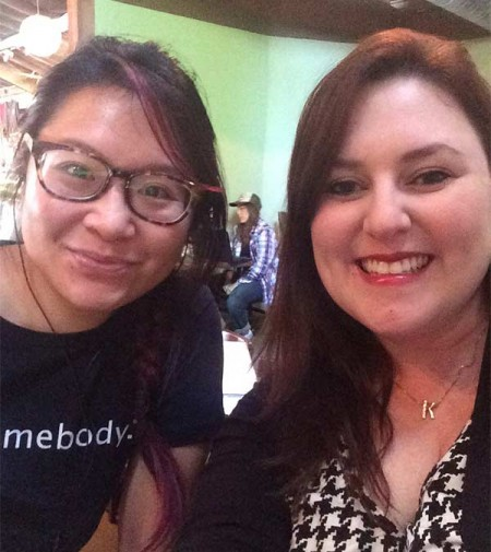 Christine Chen and Kellie Koford