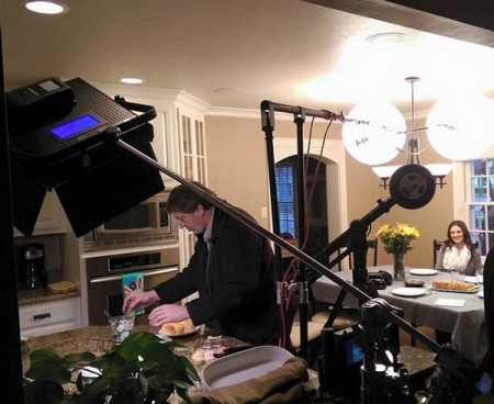 On Set for a Festival Foods Commercial