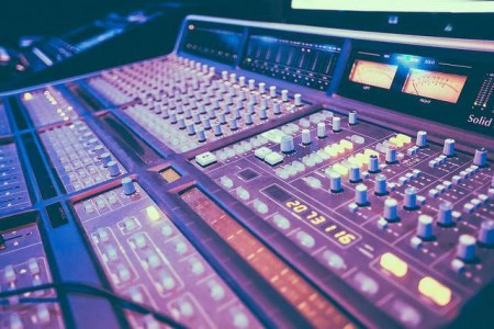 SSL Mixer House Studio, DC