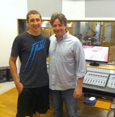 Nick Dawson and mentor Hollis Greathouse