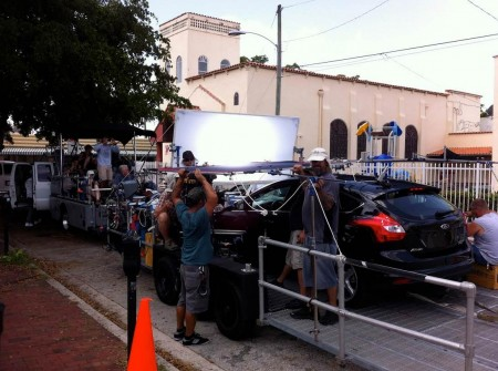 Commercial shoot for Ford Focus