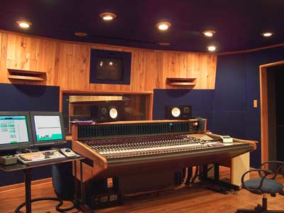 Control Room in January Sound