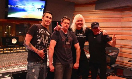 Johnny Whiteside (engineer), Jim Breuer (comedian), James Forbes (engineer), Brian Johnson (ACDC singer)
