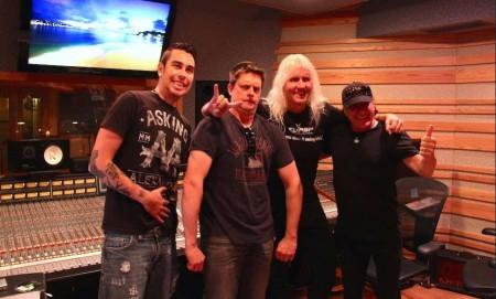 Johnny Whiteside (engineer), Jim Breuer (comedian), James Forbes (engineer), Brian Johnson (ACDC singer)