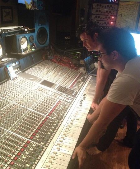 Eric Gonzalez with Warren Huart