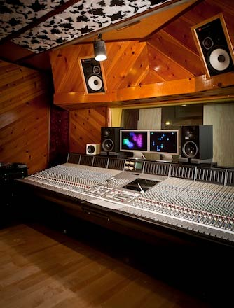 Control Room in Freq Lab Recording