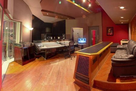 Control Room A in Rax Trax Recording