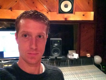 Recording Connection mentor Zack Phillips