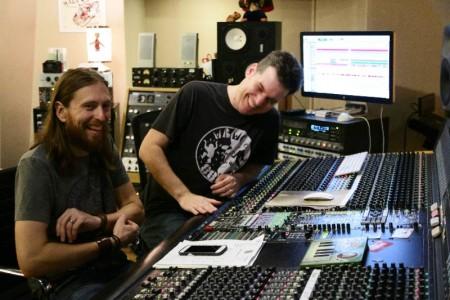 Jones Nelson and mentor Jamie Tate at Rukkus Room, Nashville, TN