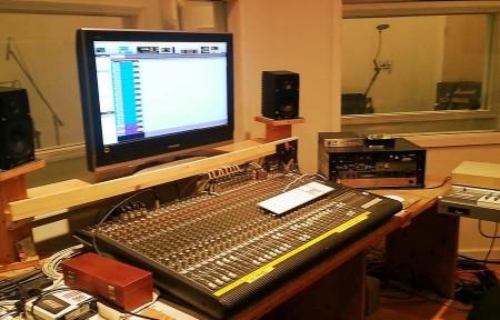 Control Room in Cityview Recording