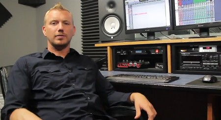 Recording Connection mentor Jesse Clark