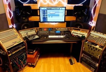 Control Room in Conway Studios
