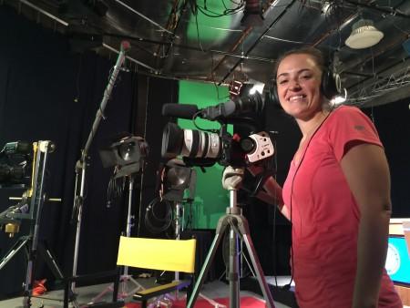 Film apprentice Michelina Friss