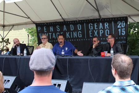 Ari Blitz VP Aftermaster Audio Labs, Dave Pensado, Herb Trawick, Brian Kraft, and Jimi Petulla for Recording Connection