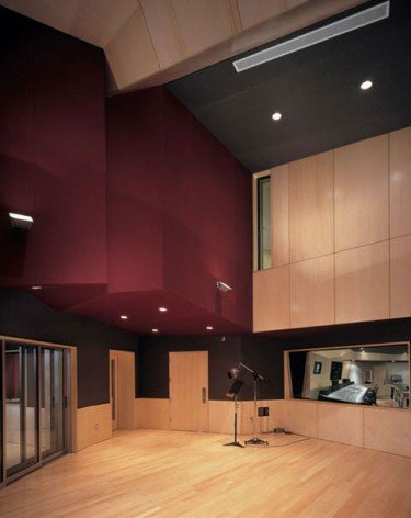 Studio A Tracking Room in Luminous Sound