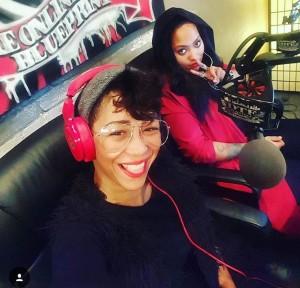 Jessie Rae and Lelo in studio