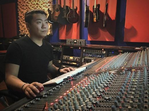 Recording Connection graduate Paul Raymond