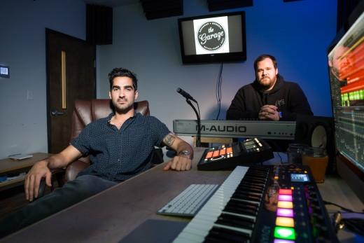 Colin Motlagh and Matt Collett. Photo credit Keith Morgan