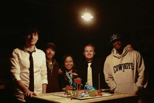 Jeff Levack, Wes Cobb, Mary Anne Zamora, Gage Mull, Kenneth Campbell