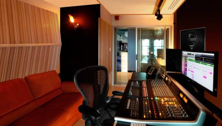 Control Room in Oz Studios