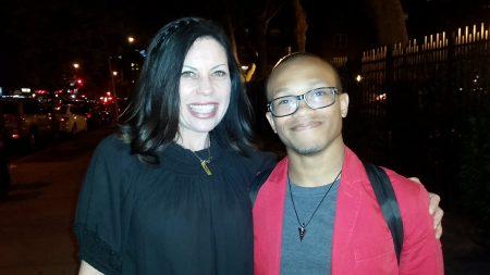 Jonathan Harris with screenwriter Susan McMartin at Tribeca 2016