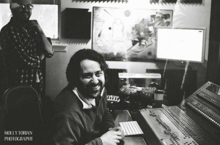Recording Connection mentor Paul Broussard