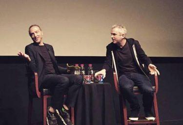 Alfonso Cuarón and Emmanuel Lubezki at Tribeca 2016