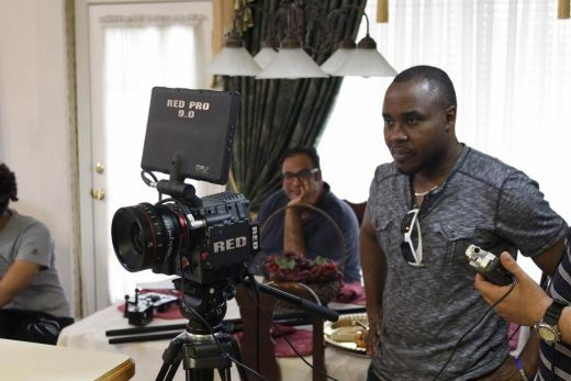 Film Connection mentor Deen Olantuji