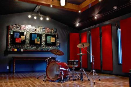 Live Room in Leap Studios