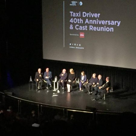 "Panel discussion at ""Taxi Driver"", Tribeca 2016"