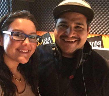 Mary Mau and DJ Maleko