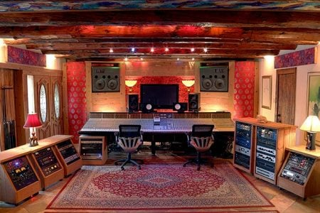 Mix Room in Sonic Ranch