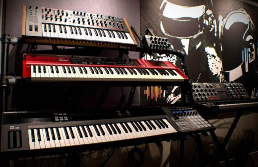 Synth Rack in The Abstract LA